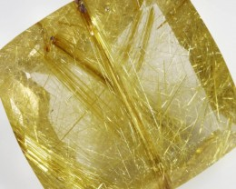 55.10 CTS NATURAL GOLDEN RUTILATED QUARTZ [GOGO109]