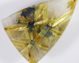 21.25 CTS NATURAL GOLDEN RUTILATED QUARTZ [GOGO107]