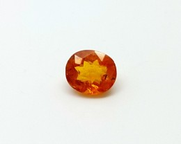 0.65 CT RARE CLINOHUMITE GEMSTONES OF TAJIKISTAN ORIGIN
