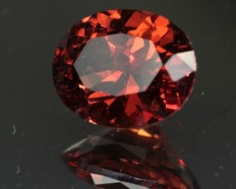 2.36 ct BURMESE SPINEL - BEAUTIFUL RED/ORANGE COLOR!