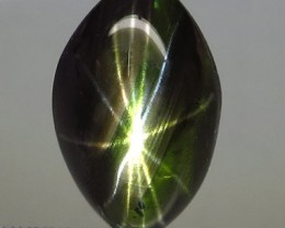 7.75 Carat 12 Ray Thailand Black Star Sapphire - Gorgeous