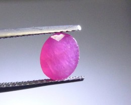 1.20cts Natural Ruby , Untreated Gemstone