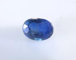 0.65ct  Blue Ceylon Sapphire , 100% Natural Untreated Gemston