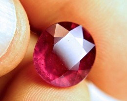 9.81 Carat Fiery Red Ruby - Superb