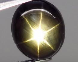 8.22 Carat Elegant Thailand Black Star Sapphire