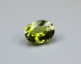 PERIDOT OVAL SHAPED GEM