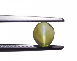 0.72 ct Chrysoberyl Cat's Eye Gemstone from Sri Lanka