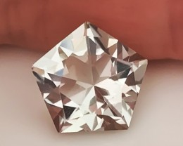3.94ct Rare Cut Green Amethyst  (Prasiolite) - NO RESERVE AUCTION