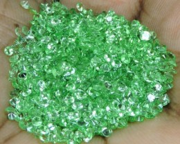 45.30 CTS DAZZLING NATURAL EARTH MINED ULTRA GREEN TSAVORITE GARNET!!
