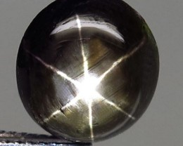 6.10 Ct. Thailand Black Star Sapphire - Gorgeous