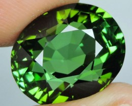 20.04 Cts EXQUISITE FLAWLESS TOP GREEN NATURAL TOURMALINE