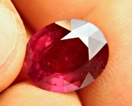 10.29 Carat Vibrant Red Ruby - Superb