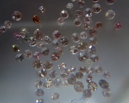 NATURALPINK DIAMOND ,1MMSIZE,1CTWLOT