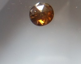 NATURAL BROWNREDDIAMOND,0.95CARAT, 1PCS