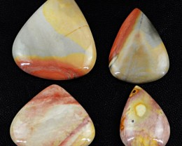 Genuine 156.50 Cts Pear Shaped Jasper Cab Lot