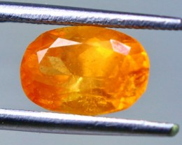 2.45 cts Spectacular Orange Spessartite Garnet Cut gemstone Single piece
