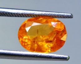 2.10 cts Spectacular Orange Spessartite Garnet Cut gemstone Single piece