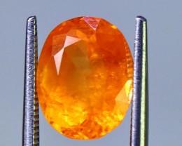 2.95 cts Spectacular Orange Spessartite Garnet Cut gemstone Single piece