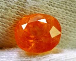 3.00 cts Spectacular Orange Spessartite Garnet Cut gemstone Single piece