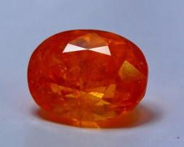6.00 cts Spectacular Orange Spessartite Garnet Cut gemstone Single piece
