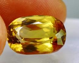 Wow~10.45 CT Natural & Beautiful Golden Yellow Heliodor beryl g