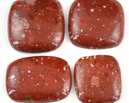 Genuine 215.00 Cts Untreated Red Jasper Cab Lot