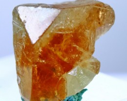 74.05 cts Top Quality & Superb Orange Brown Color Topaz Rough Crystal