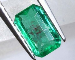 EMERALD FACETED BRAZIL .58 CTS CG-2111