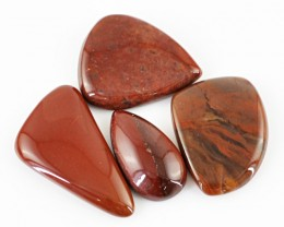 Genuine 82.10 Cts Untreated Red Jasper Cab Lot