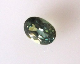 0.74cts Natural Australian Blue Parti Sapphire Oval Cut