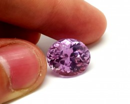 13.20 cts high quality kunzite  gemstone