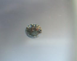 NATURALVERYRAREST BLUE-GREEN DIAMOND, 0.15CTWSIZE-1PCS