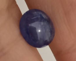 2.50CT GLOWING TANZANITE CABOCHON - AMAZING 2 DAY NO RESERVE AUCTION!