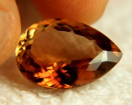 14.6 Carat VVS Brazil Golden Brown Topaz