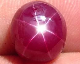 6.15 Carat Star Ruby - Gorgeous