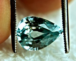 4.67 Carat Blue VVS Southeast Asian Zircon - Gorgeous