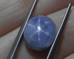 6.84 ct Natural Blue Star Sapphire Unheated Ceylonese/Sri Lanka Star Sapphi