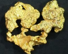 2.8 Grams  3 Kalgoorlie Gold Nugget, Australia LGN 1454