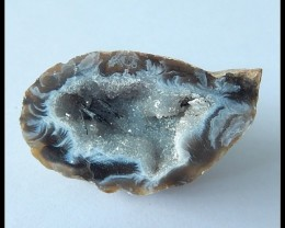 91Ct Natural Brazil Agate Gemstone Geode,Geode Agate