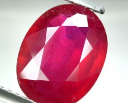 4.05 Cts Natural Blood Red Ruby Oval CUt Thailand Gem