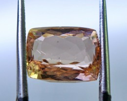 5.10 cts Unheated & Superb Quality Peach Pink Color Morganite Single Ge