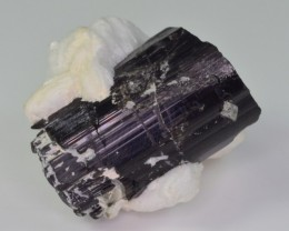 141.45 CT WOW NATURAL TOURMALINE COMBINE WITH MICA FROM SKARDU PAKISTAN