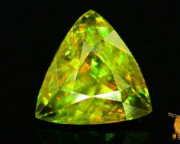 GiL Certified 3.09 ct Natural Sphene Great Color Dispersion Pakistan