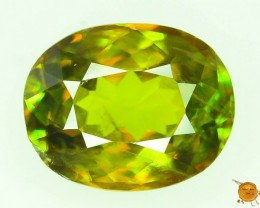 GiL Certified 1.18 ct Titanite Sphene Diamond Like Sparkle