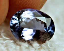 2.76 Carat VVS1 Vibrant Blue Tanzanite - Gorgeous
