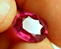 6.83 Carat Fiery Red Ruby - Superb