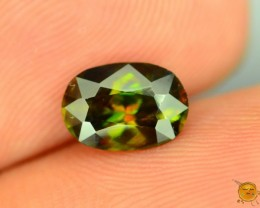 Natural Sphene 1.3 ct Great Color Dispersion From Himalayan Range