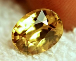 4.43 Carat VVS Golden Yellow Zircon - Superb