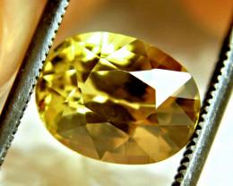 4.43 Carat VVS Golden Yellow Zircon - Superb