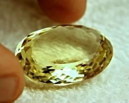 60.9 Carat Lemon Yellow VVS African Quartz - Gorgeous